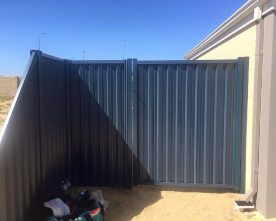Colorbond Gate and Panels in Baldivis