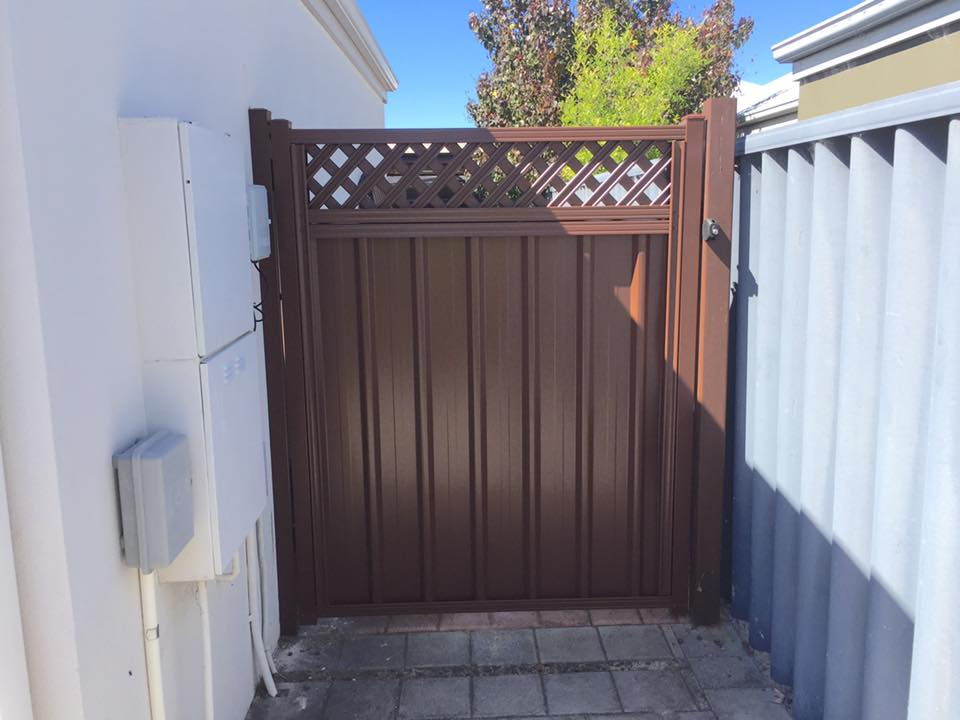 Colorbond single gate Special