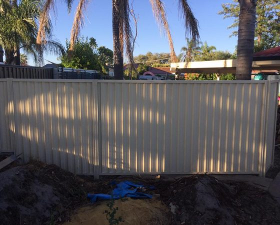 Colorbond Fencing, Single Gate in Riverton