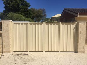 Colorbond fencing and gates in Warnbro