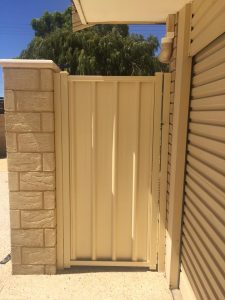 Colorbond fencing gate Warnbro