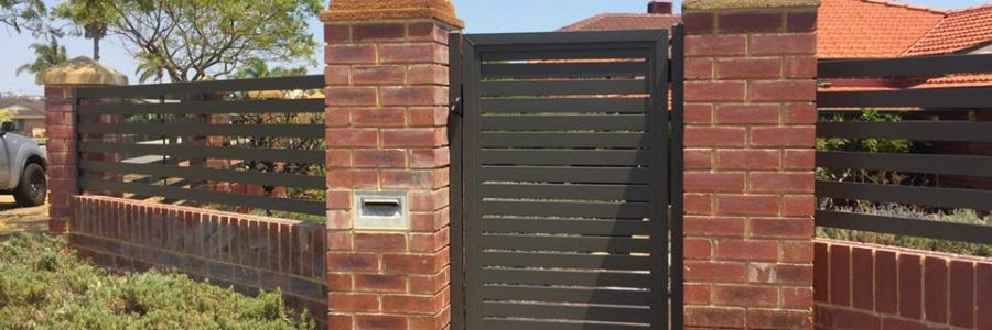 Aluminium Slat Gate, Kardinya A