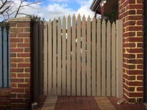 picket-gate
