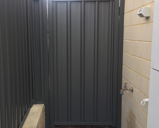 Colorbond Gate Wellard