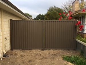 Colorbond Gate Perth Rockingham Mandurah
