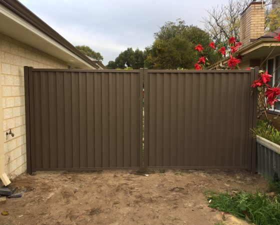 Colorbond Gate Perth Rockingham Mandurah