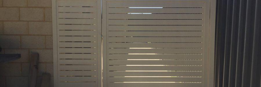 Aluminium Slat Gate Panel Baldivis