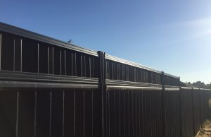 Colorbond Fence Extension