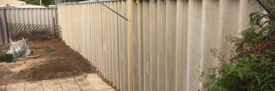 Hardie Fence (Super Six 6) Before and After