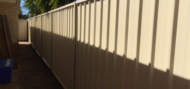 Colorbond Fencing Marangaroo Western Australia
