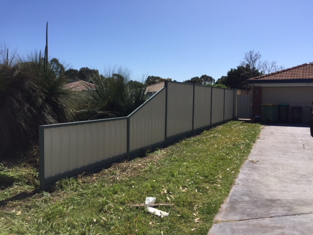 Colorbond Fencing Project Complete